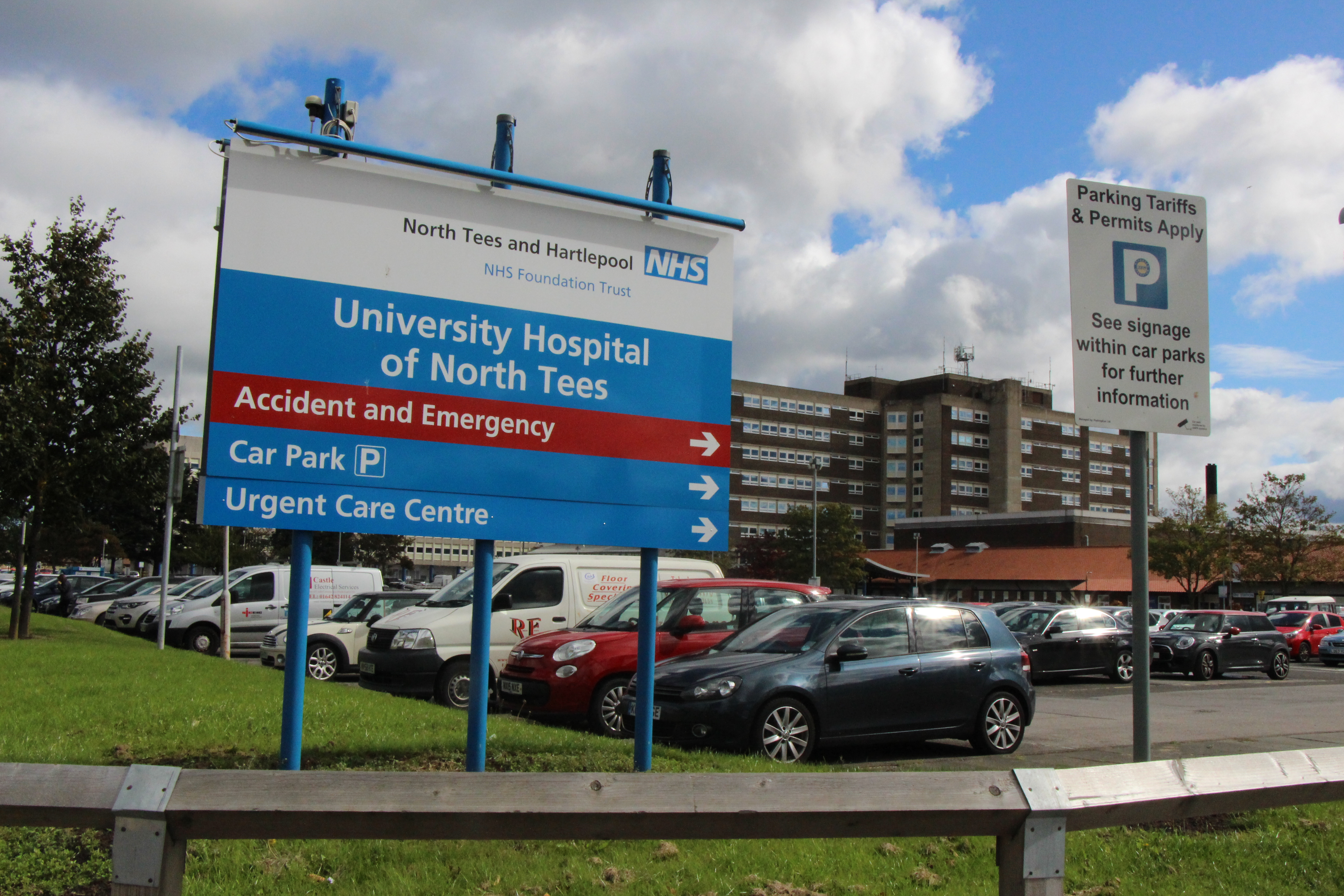 Car Parking North Tees And Hartlepool Nhs Foundation Trust