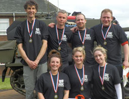 Exercise medical challenge - This years staff who took part