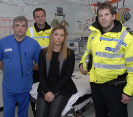 Vicky Dowdall has joined police and doctors to share her story