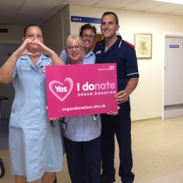 Staff share the importance of organ donation