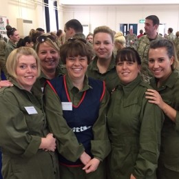 Our midwifery team, who also took part in the medical challenge