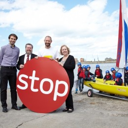 Stoptober - local authority colleagues from Hartlepool share their support for the stoptober campaign this year