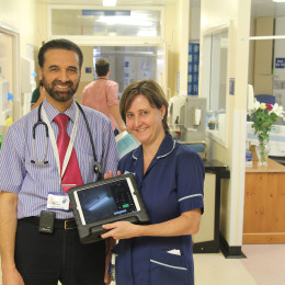 Consultant physician Ijaz Anwar said with stroke colleague