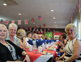 Some of our volunteers enjoying this years event