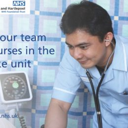 Join our team of nurses in the stroke unit
