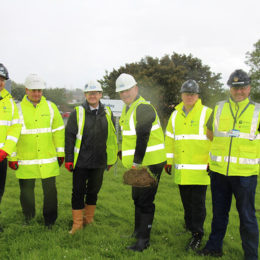 Estates staff involved in the creation of the new energy centre