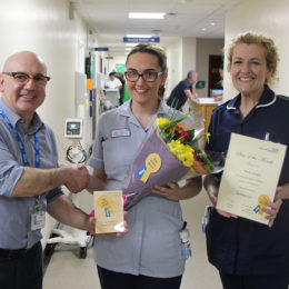 Latest star of the month Kirsty