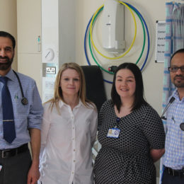 r Stroke research team, who hav received national recognition