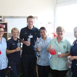 """Hydration is key to ensure you look after your body"" - staff raise awareness of importance of hydration"