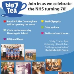 Join in as we celebrate the NHS Turning 70! Staff Olympics, choir performance, cake and tea, bbq and music, stalls and much more...