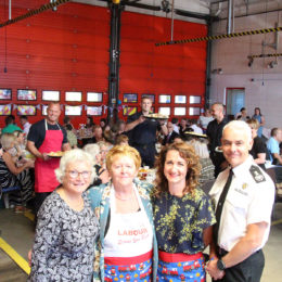 Peterlee fire station raising funds for cancer care