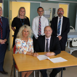 Signing of the health and social care academy launch