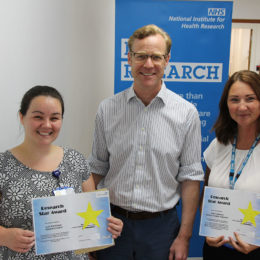 The latest research stars Alex and Anna with Consultant Justin Carter