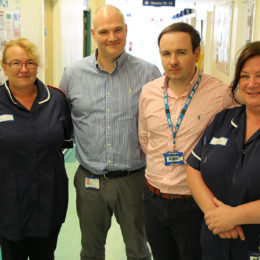 Colleagues in orthopaedic outpatients who have been involved in holding virtual fracture clinics