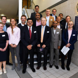 The conferenc organisers and speakers