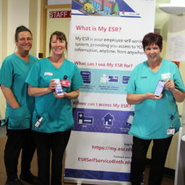 Some of our domestics help promote the new My ESR tool