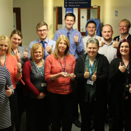 Finance team are all thumbs (up!)