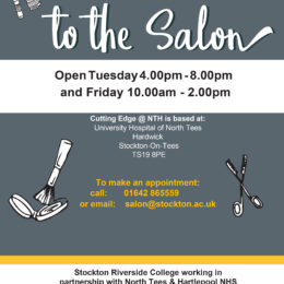 New cutting edge salon at North Tees Hospital open for business