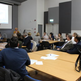 GPs discuss pathway options between primary and secondary care at engagement event