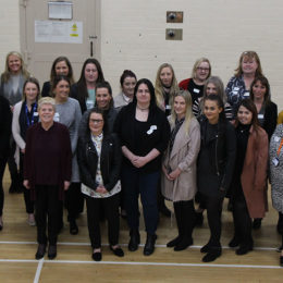 Some of the potential band 5 nurses that took part in a recruitment event with some of the Trusts Nursing staff