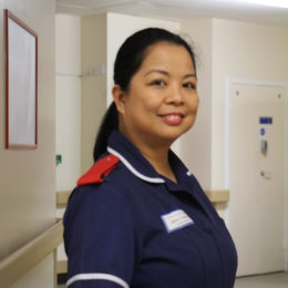 North East nurse of 25 years nominated for her outstanding contribution to the work of the Haematology department.