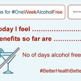 Social Card: Join us for one week alcohol free