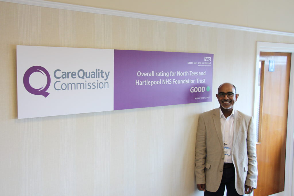 Mr Sanjay Miranda, Consultant Orthopaedic Hand & Wrist Surgeon has joined the team at North Tees and Hartlepool NHS Foundation Trust