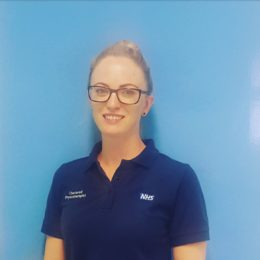 Physiotherapy team lead Leanne Mitchell
