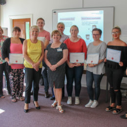 Image of North Tees and Hartlepool NHS Foundation Trust Nursing Associate Graduates