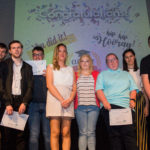 Project choice graduates on stage at 2019 awards