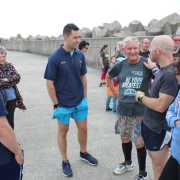 Staff physios get involved in supporting community Parkrun in Hartlepool