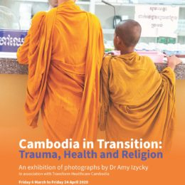 Cambodia in Transition: Trauma, Health and religion event invitation