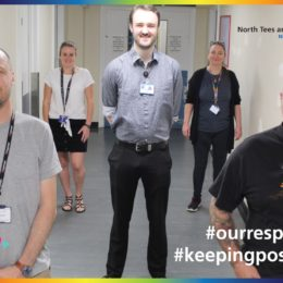 The Trust ICT team, who have been vital in supporting staff virtual working during the pandemic