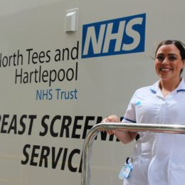 Breast screening returns to Teesside and Co. Durham