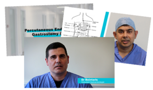 Screen stills from some of the Endoscopy procedure videos