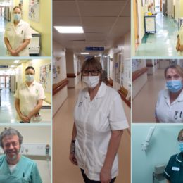 Image of a number of the Trusts amazing nursing support workers