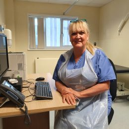Urgent care nurse practitioner has returned from retirement to help during COVID-19.