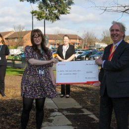 SGP Accountants donate to patient experience team