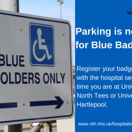 Free Parking - Blue Badge