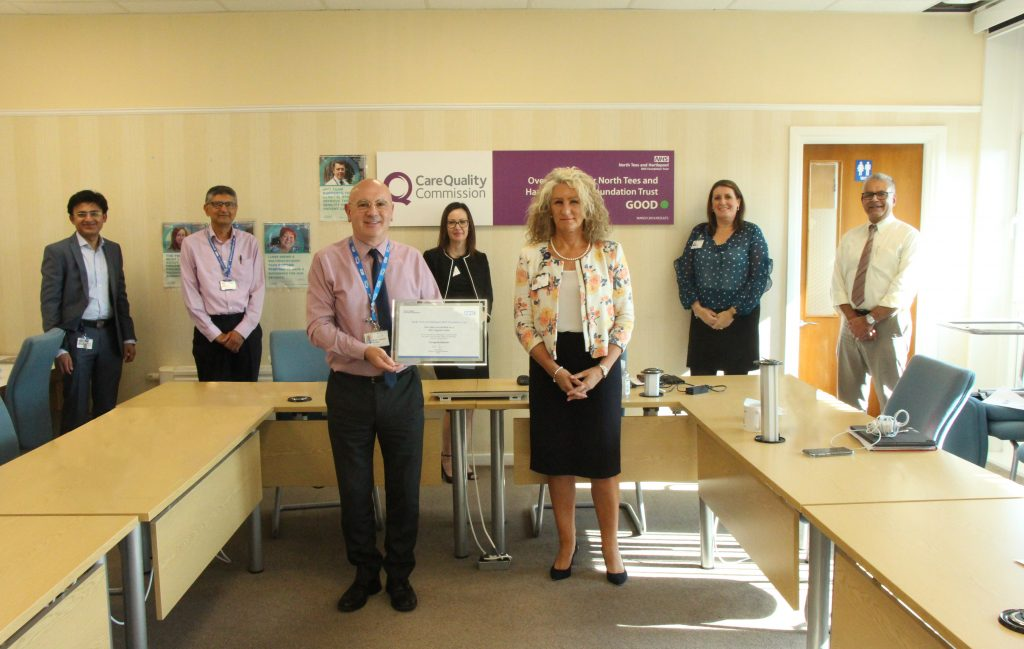 Colleagues with the Trusts GDE award