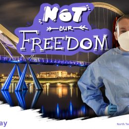 Steph for Not our freedom campaign