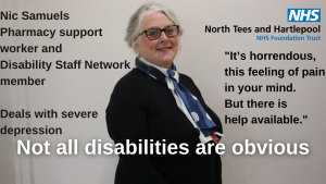 Nic Samuels Disability Staff Network - Disability Awareness Day - 2