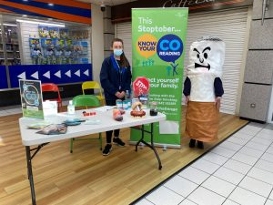 Leanne Watson at the Castlegate Shopping Centre smoking cessation service
